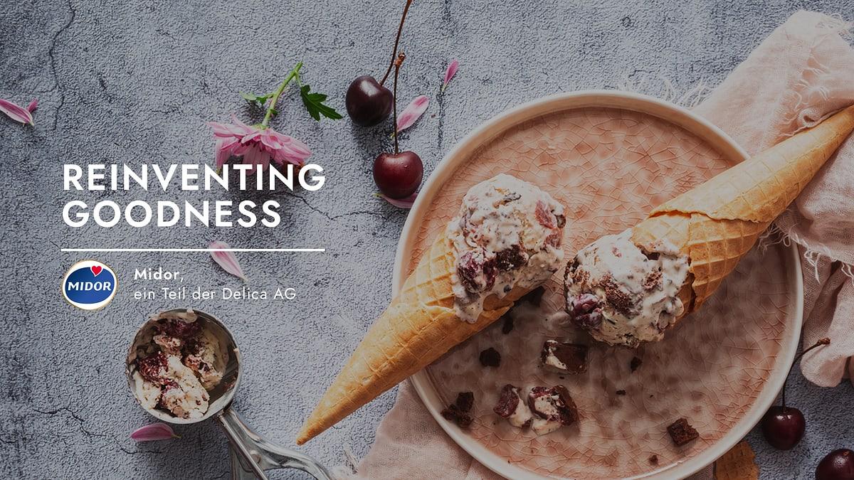Reinventing Goodness. Midor, ein Teil der Delica AG