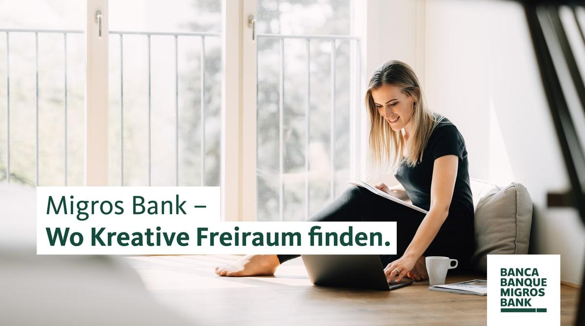 Migros Bank – Wo kreative Freiraum finden.