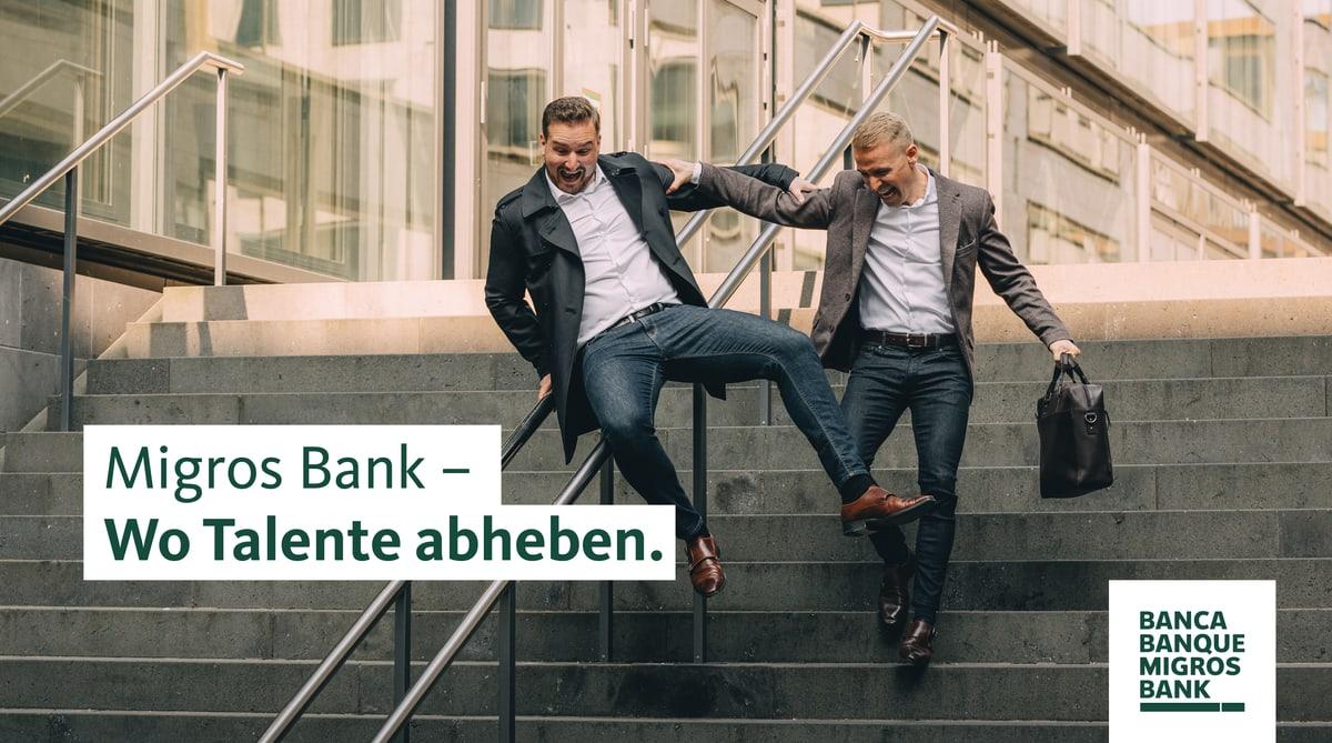 Migros Bank – Wo Talente abheben.